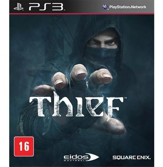 Thief Ps3 Mídia Física Lacrado Novo Rj