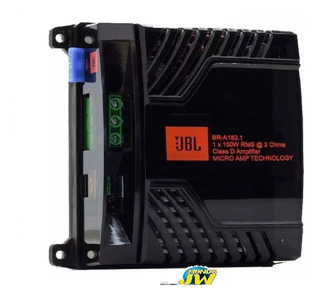 Potencia Amplificador Digital Jbl Br-a150.1 150w Rms 1 Canal