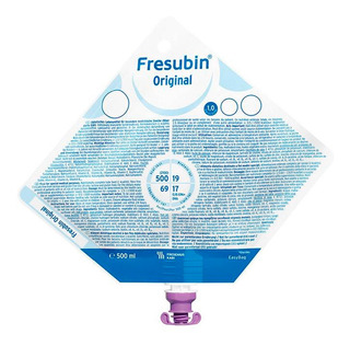 Alimento Enteral Fresenius Frebini Bolsa Easy Bag 5x500ml