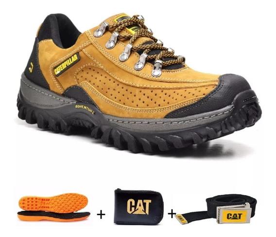 Tênis Bota Coturno Caterpillar + Brindes Frete Grátis !!!!