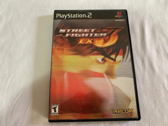Street Fighter Ex3 Ps2 Original Completo Americano