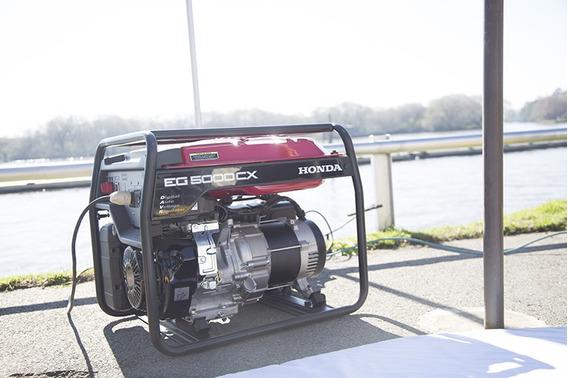 Grupo Electrogeno Honda Generador Eg 5000 Monofasico 4,8 Kva