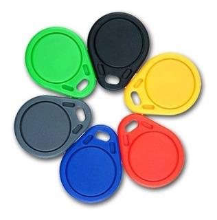 Pack X 10 Llavero Rfid Numerados Proximidad 125khz Colores