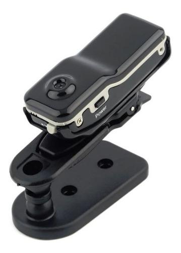 Imagen 1 de 9 de Mini Cámara Espía Md80 Grabación Dv Soporte Micro Sd