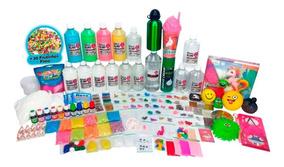 Kit Para Fazer Slime Mega Isa Slime - O Kit + Completo