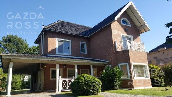 Excelente Casa En Alquiler Con Piscina En Barrio Privado Solar Del Bosque