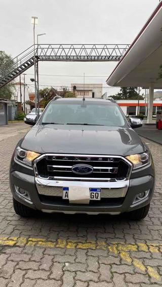 Ford Ranger 3.2 Cd 4x4 Limited Tdci 200cv At 2016