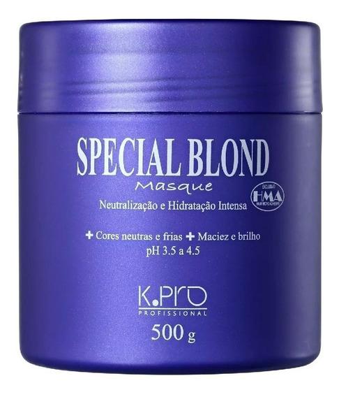Máscara Kpro Special Blond Masque 500g + Brinde