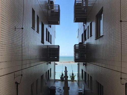 Apartamento Em Enseada Azul, Guarapari/es De 60m² 1 Quartos À Venda Por R$ 454.540,42 - Ap667365