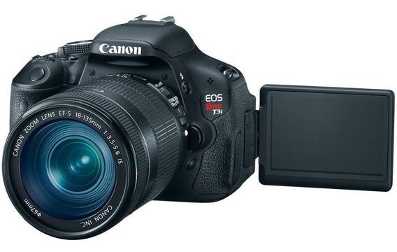 Câmera Profissional Canon T3i + Lente 18-55 Mm