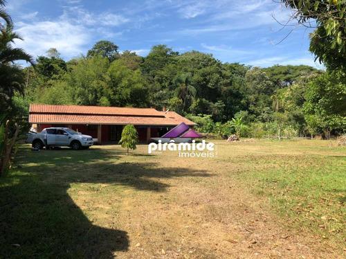 Chácara À Venda, 5000 M² Por R$ 720.000,00 - Capuava - São José Dos Campos/sp - Ch0119
