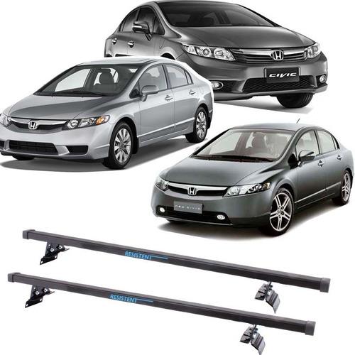 Imagem 1 de 8 de Rack Teto Resistent Sport Honda Civic 2006 Até 2014 Lw148