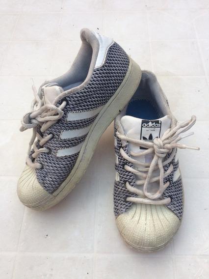 Zapatillas adidas Superstar Nena Talle 31,5 Diseño Serpiente