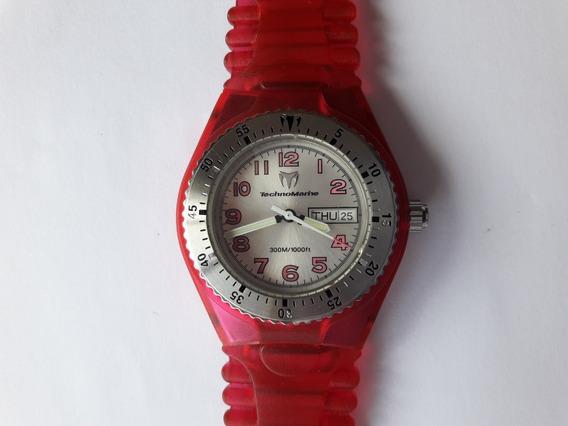 Technomarine Original - Relógio Completo Em Ótimo Estado!!!!