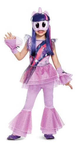 Disfraz Talla 3t  4t Para Niña De Twilight Sparkle My