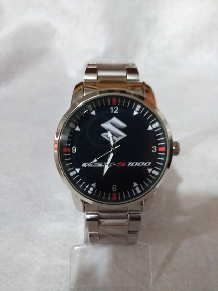 Relógio De Pulso Personalizado Suzuki Gsx S1000 Esportiva