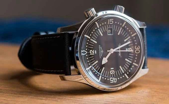 Longines Automático Lld Legend Diver Completo 2019 Date