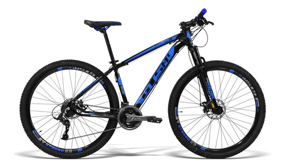 Bicicleta Gts M1 Aro 29 Ride New Tsi Freio Á Disco 21 Velo.