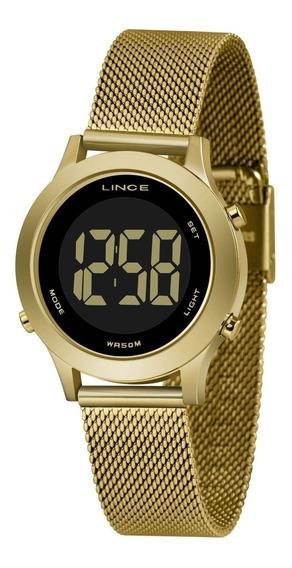 Relógio Lince Feminino Redondo Digital