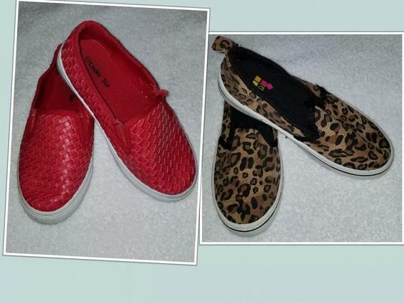 Zapatos Casuales Variados Para Niñas Usados Importados