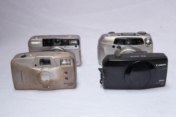 Câmeras Fotográficas Analógicas Pentax, Canon E Minolta