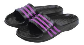Chinelo adidas Duramo Sleek W Preto/roxo Aq2152 Feminino -