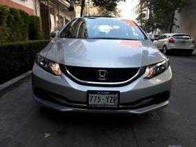 Honda Civic Exl Sedan 2013 Aut, Inmejorables Condiciones!