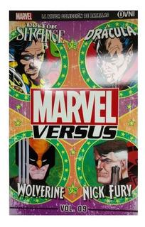 Marvel Vs Nº 09 Dr Strange Vs Dracula // Wolverine Vs Nick F