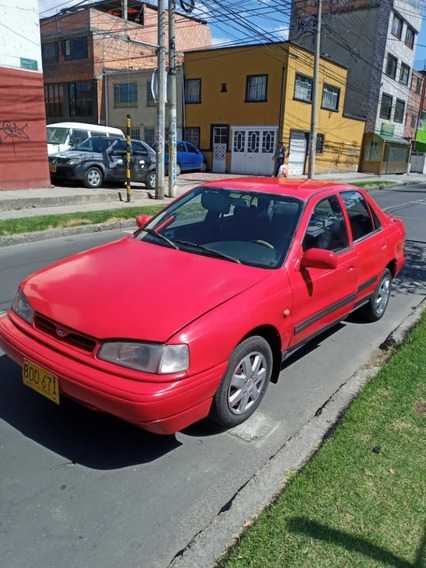 Hyundai Elantra 93 Rojo