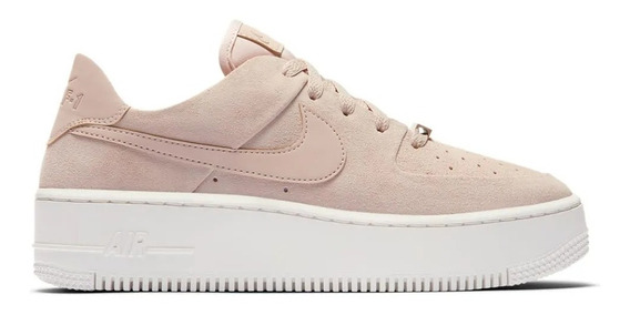 Hat Plaza Zapatillas Nike Air Force 1 Sage Low 8us Mujer