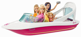 Barbie Dolphin Magia Oceano Barco Playset