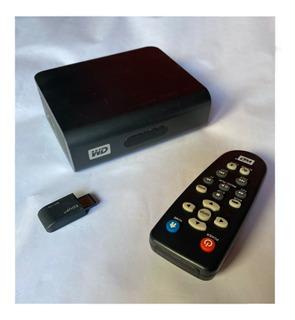 Western Digital Tv Live Plus. Hd Con Pendrive Usb - Wi-fi