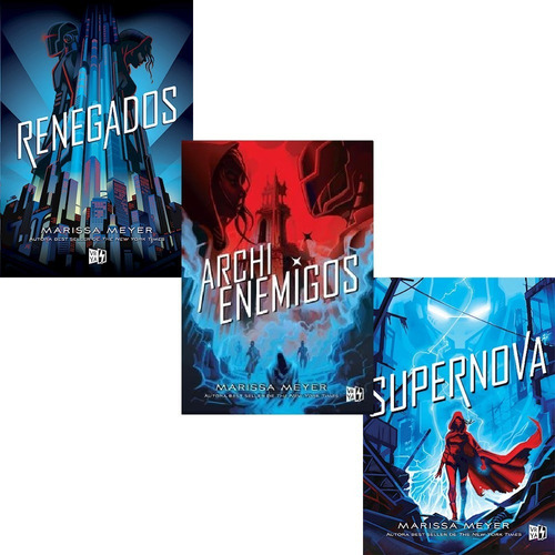 Imagen 1 de 5 de Trilogía Renegados + Archi Enemigos + Supernova - Meyer M.