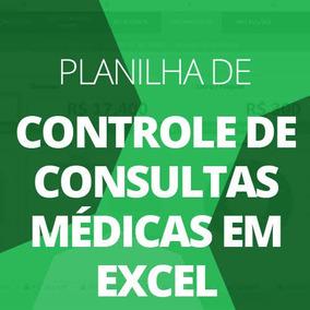 Planilha Consultório Médico Agendamento De Consultas