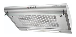 Extractor purificador cocina Domec DOM 3060 ac. inox. de pared 60cm x 14cm x 50cm plateado 220V