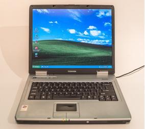 Notebook Toshiba 15 Em Ótimo Estado