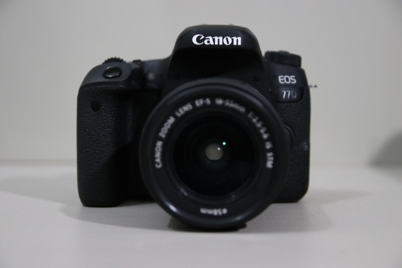 Canon 77d Kit 18-55 2.8 + 02 Baterias + Brinde