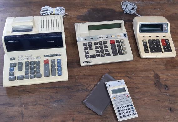 Calculadoras Antigas Sharp