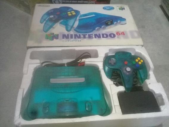 Nintendo 64 Clear Blue Aniz