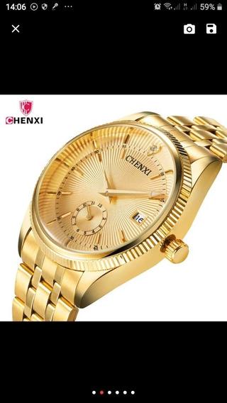 Chenxi Homens Relógio Masculino Relógio De Aço Inoxidável Do