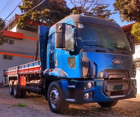 Ford Cargo 2429 Leito 2013 Carr 8.50 Todo Revisado 135000