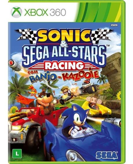 Sonic E Sega All Stars Racing Com Banjo Kazooie - Xbox 360