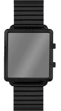 Relógio Feminino Espelhado Digital Preto Euro Eujhs31bai/4p