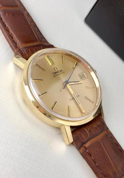 Relógio Omega Automático Genéve Ouro 18k