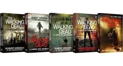 Coleção Livro - Box The Walking Dead - 5 Volumes Usado
