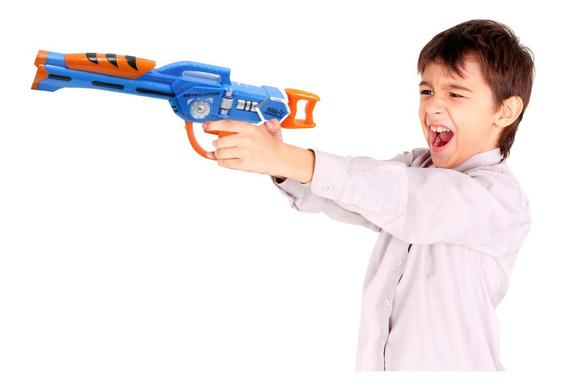 Arma De Brinquedo Infantil Estilo Nerf N 10 Dardos