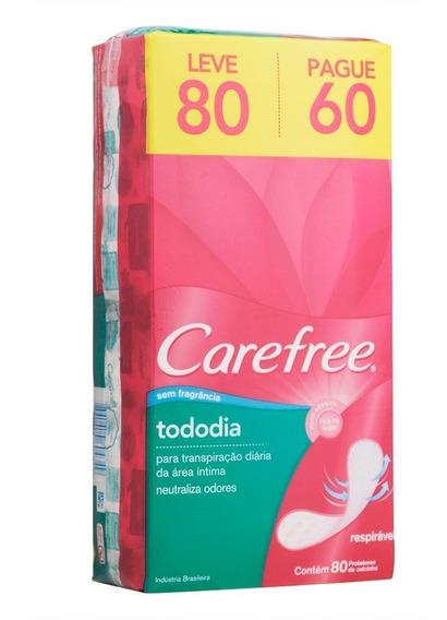 Protetor Diário Carefree Tododia S Perfume Leve 80 Pague 60
