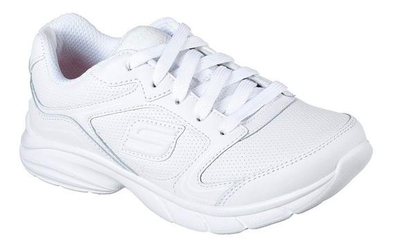 Zapatilla Skechers Niña 82271 Wht (tallas: 27.5 Al 36)