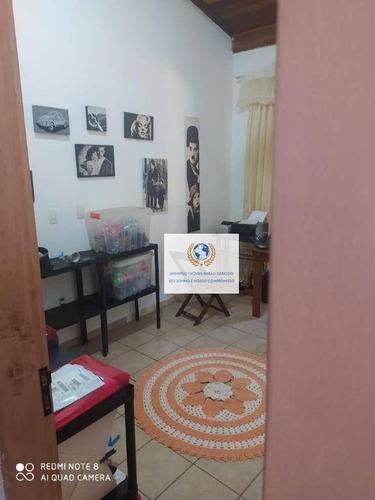 Chácara Com 4 Dormitórios À Venda, 2000 M² Por R$ 950.000,00 - Loteamento Chácaras Vale Das Garças - Campinas/sp - Ch0090