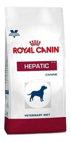 Imagen 1 de 1 de Alimento Royal Canin Veterinary Diet Canine Hepatic para perro adulto todos los tamaños sabor mix en bolsa de 12kg